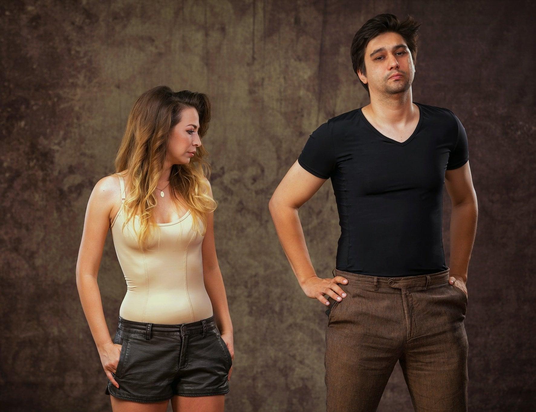 WearIT Body Shrinking T-Shirt for Men and Women