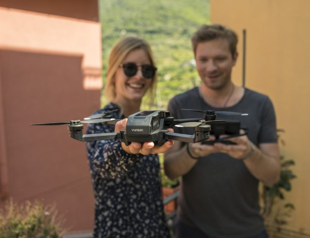 Yuneec Mantis Q Foldable 4K Travel Drone