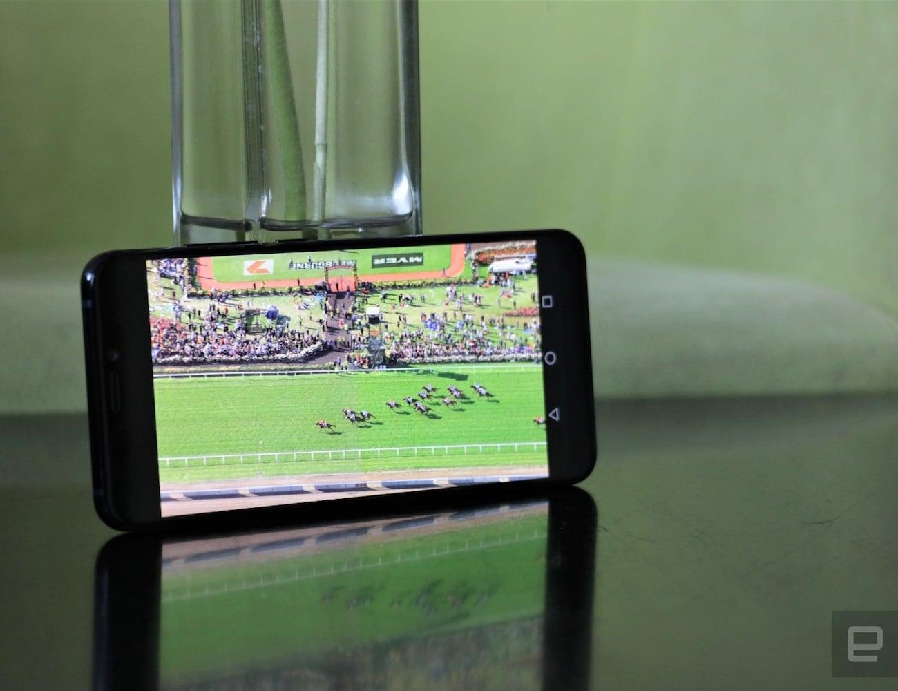 ZTE Axon 9 Pro AMOLED Display Smartphone