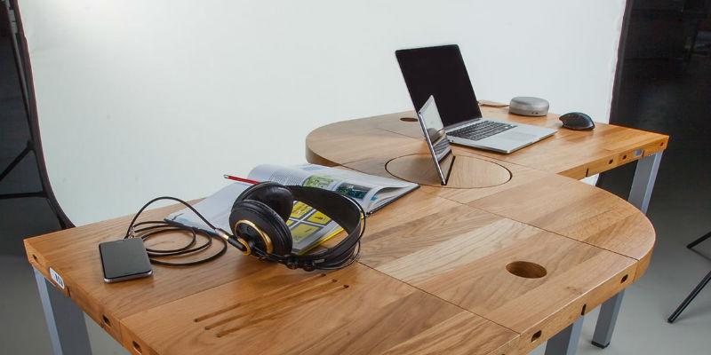 Adjustable Modular Desk