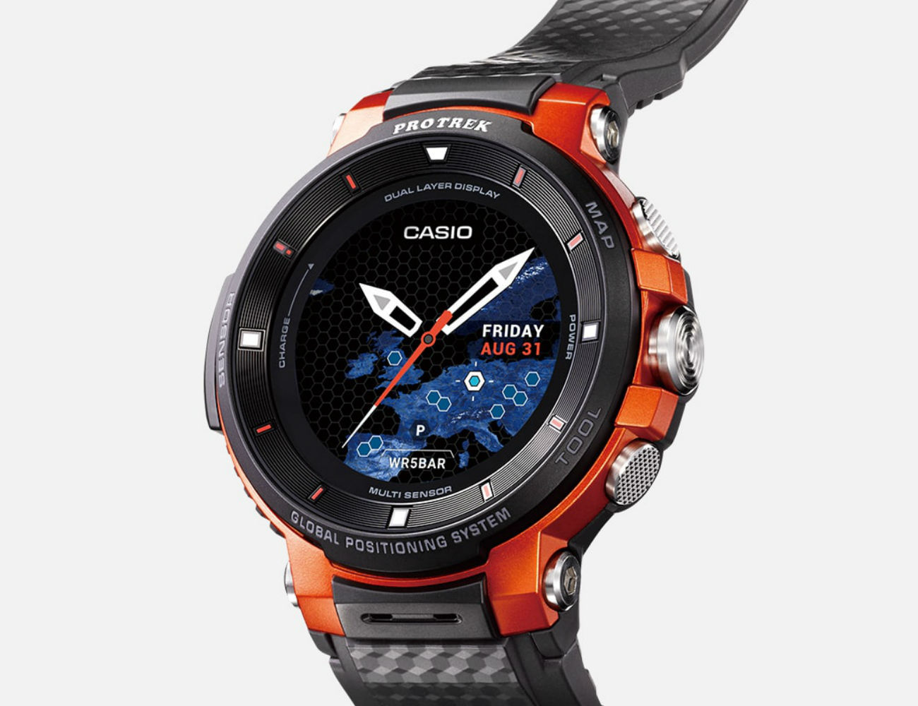 casio pro trek wsd f30 smart outdoor watch gadget flow