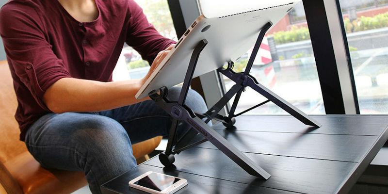 Adjustable MacBook stand