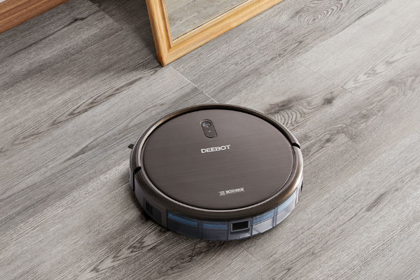ECOVACS DEEBOT floor-cleaning robots do all the hard work for you