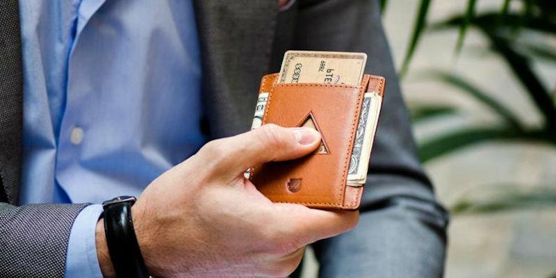 Leather RFID Blocking Strap Wallet