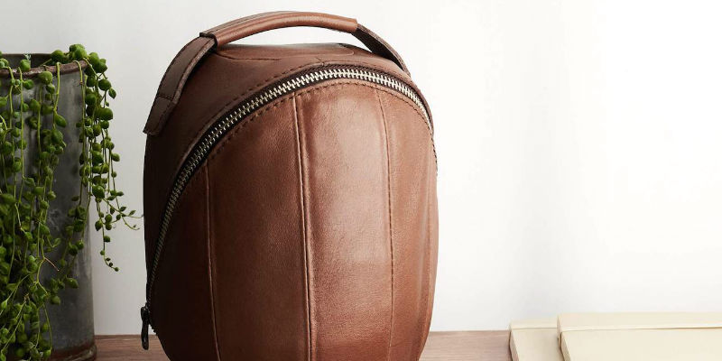 Leather HomePod Travel Case