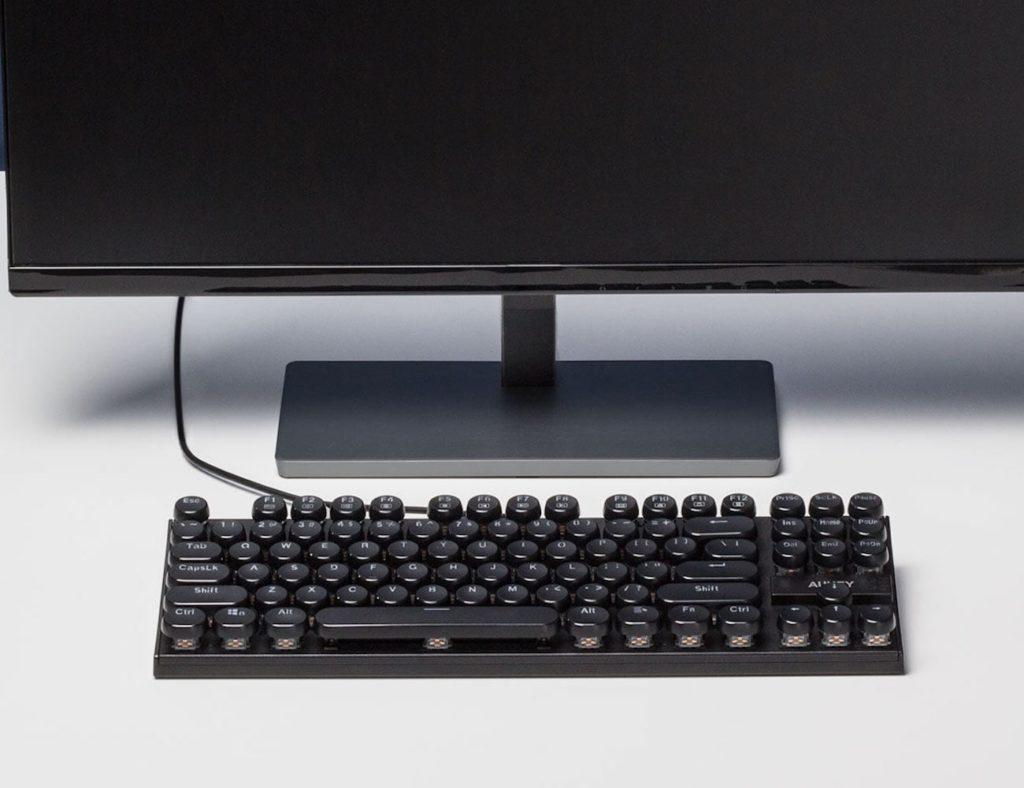 AUKEY+KM-G11+Typewriter+Style+Mechanical+Keyboard