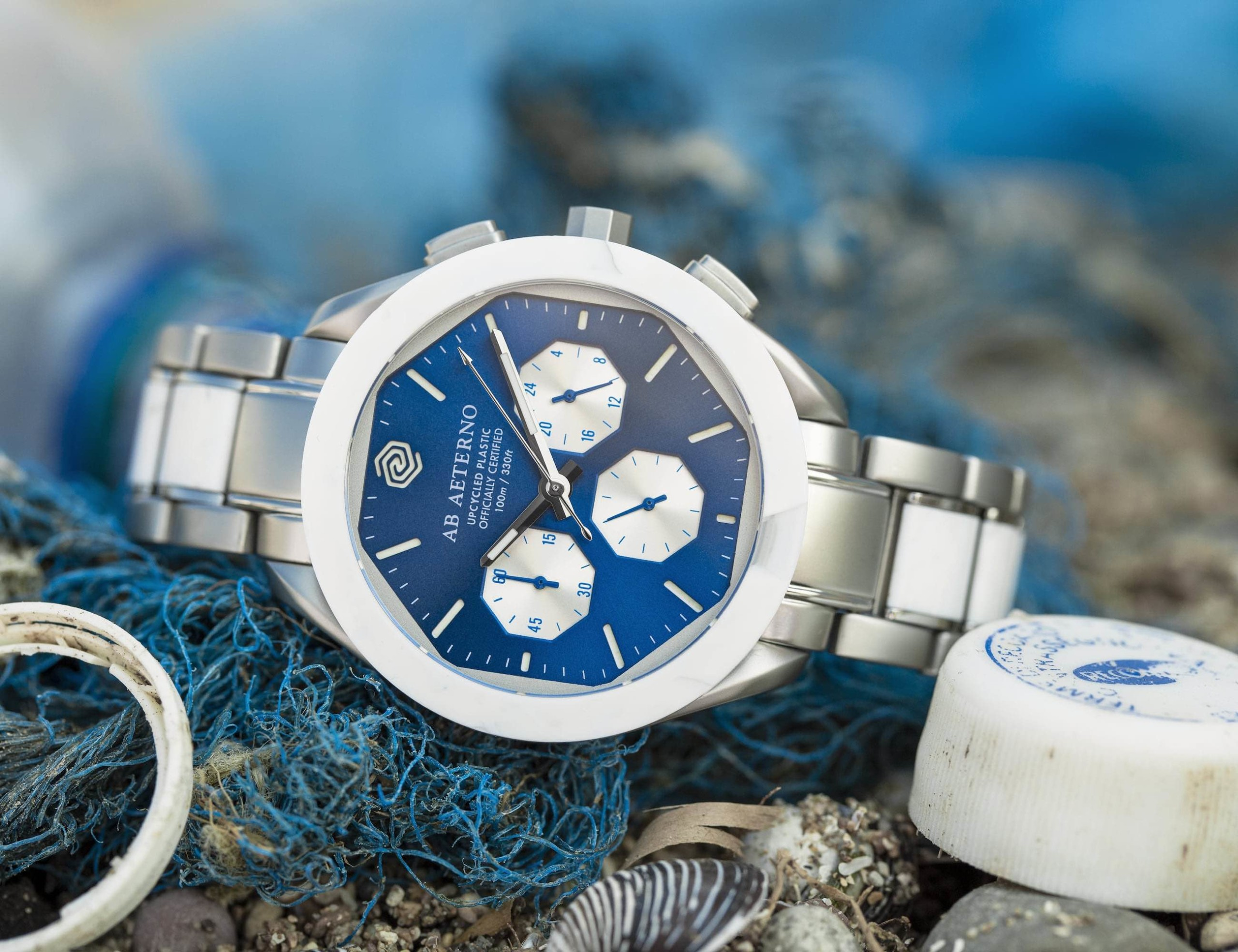 Ab Aeterno Poseidon Italian Recycled Plastic Watches