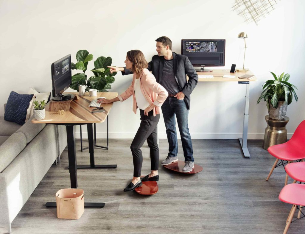 AlleyOOP+Rocker+Standing+Desk+Board