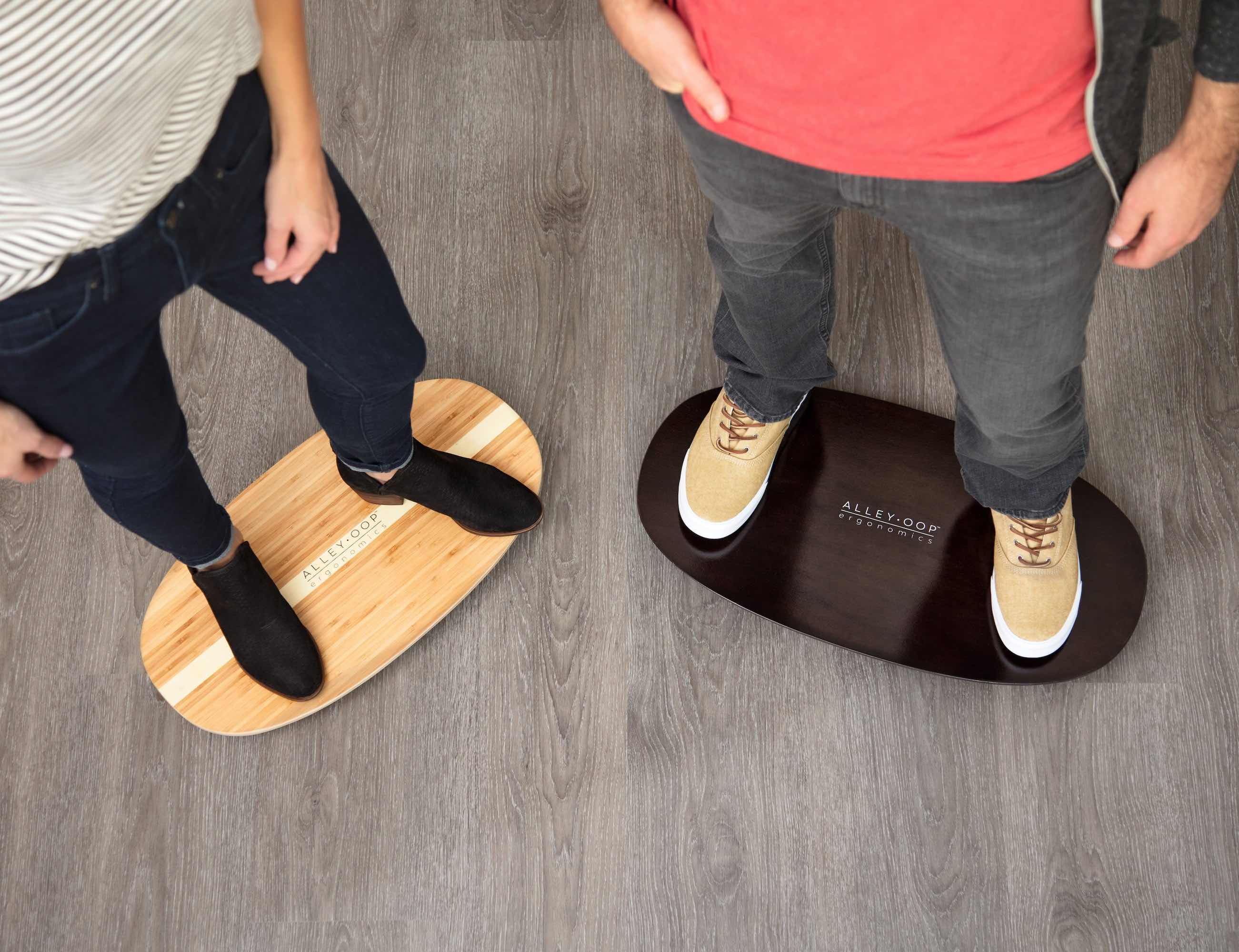 AlleyOOP Rocker Standing Desk Board
