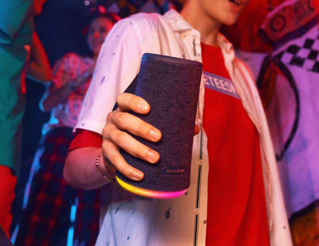 Anker+Soundcore+Flare%2B+Portable+360-Degree+Bluetooth+Speaker