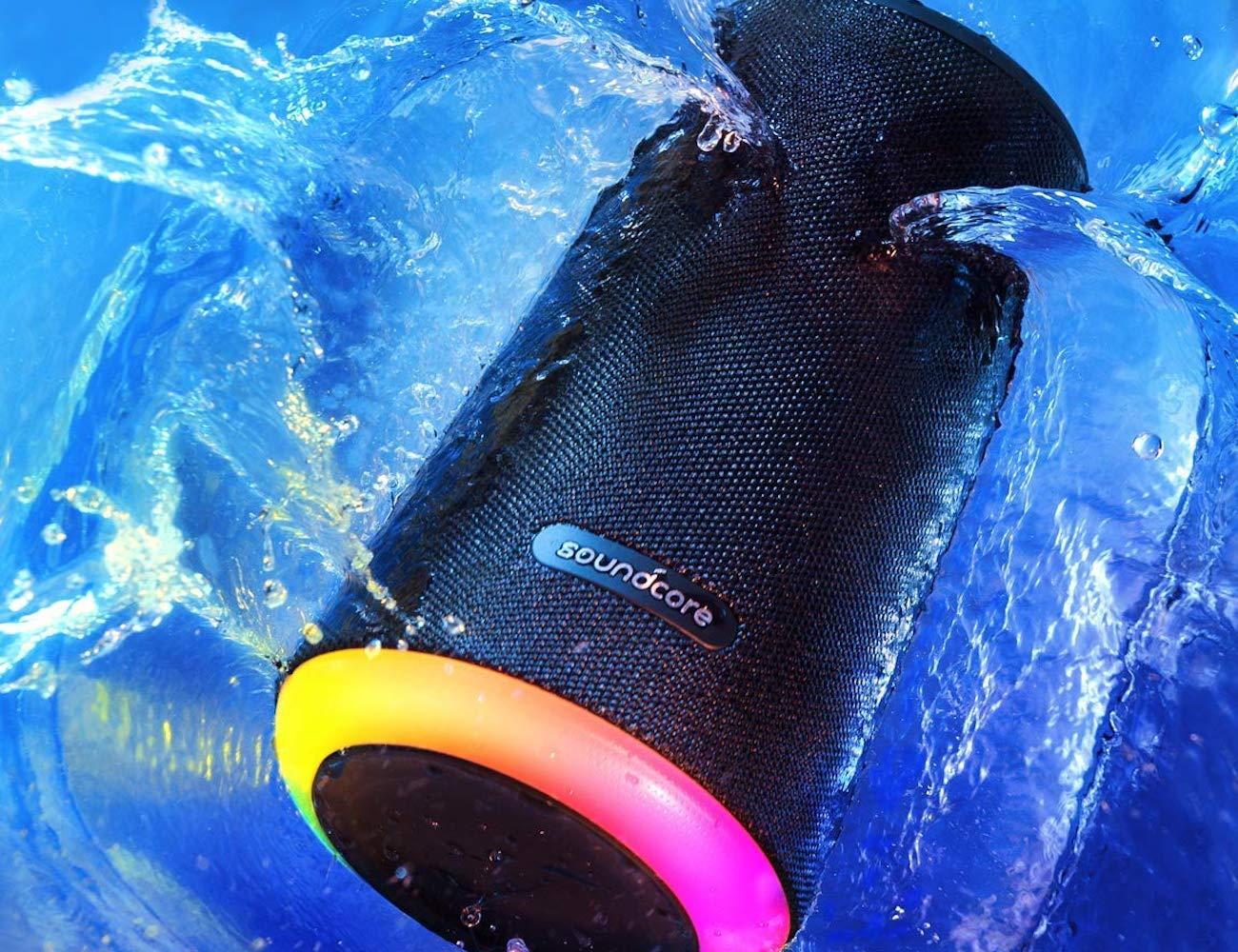 Anker Soundcore Flare+ Portable 360-Degree Bluetooth Speaker