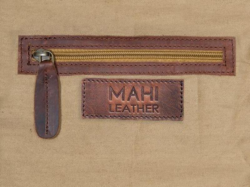 Drake Vintage Leather Weekender