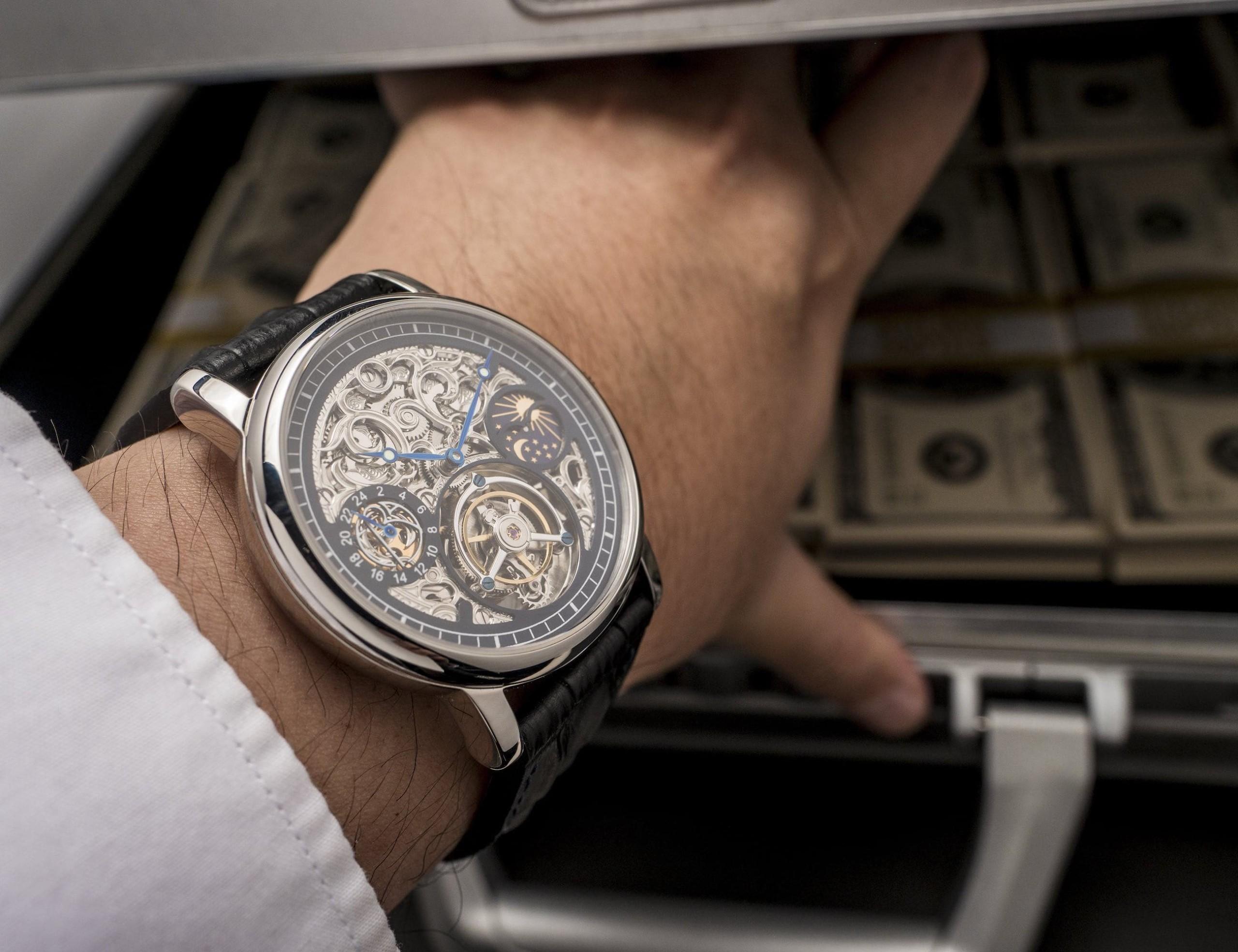 ERA Prometheus Certified Millionaire Tourbillon Watches