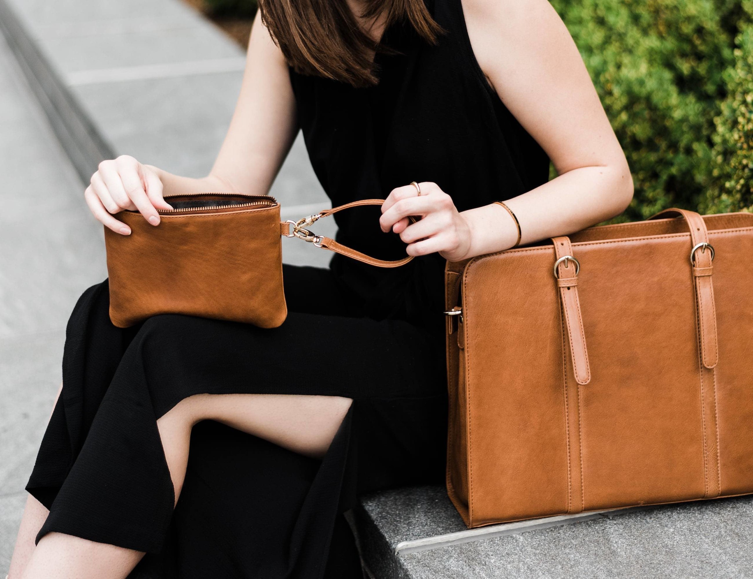 ERA81 Ultimate Leather Laptop Bag