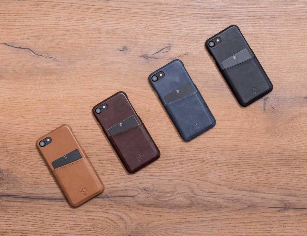 Ekster+Luxury+Leather+iPhone+Case