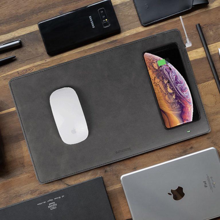 GAZEPAD+PRO+Wireless+Charging+Mouse+Pad
