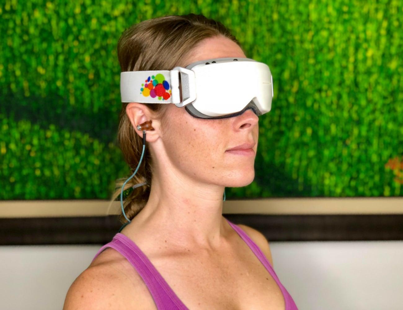 GuruGo Wearable Brain-Guiding Headset