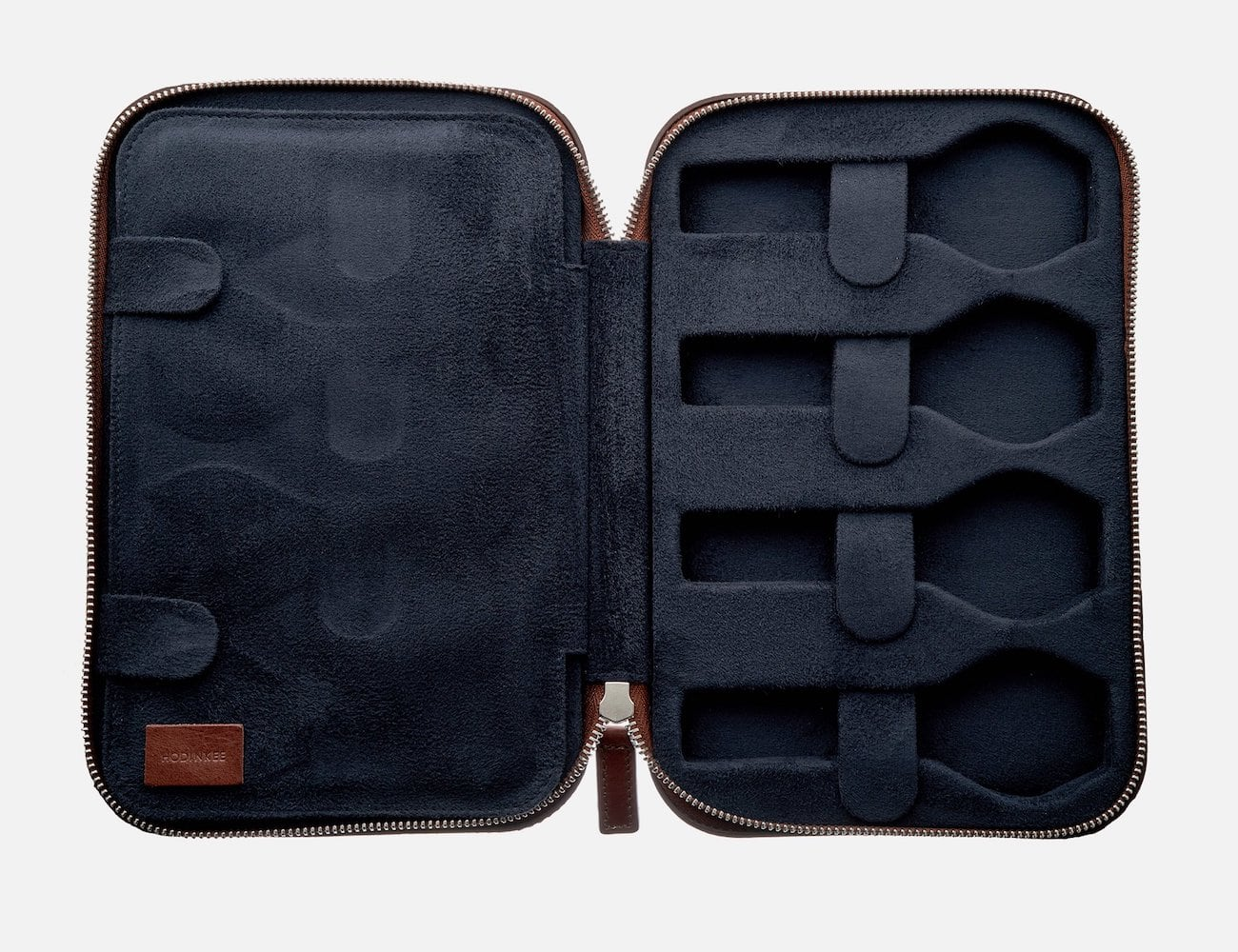 HODINKEE Molded Leather Watch Travel Case