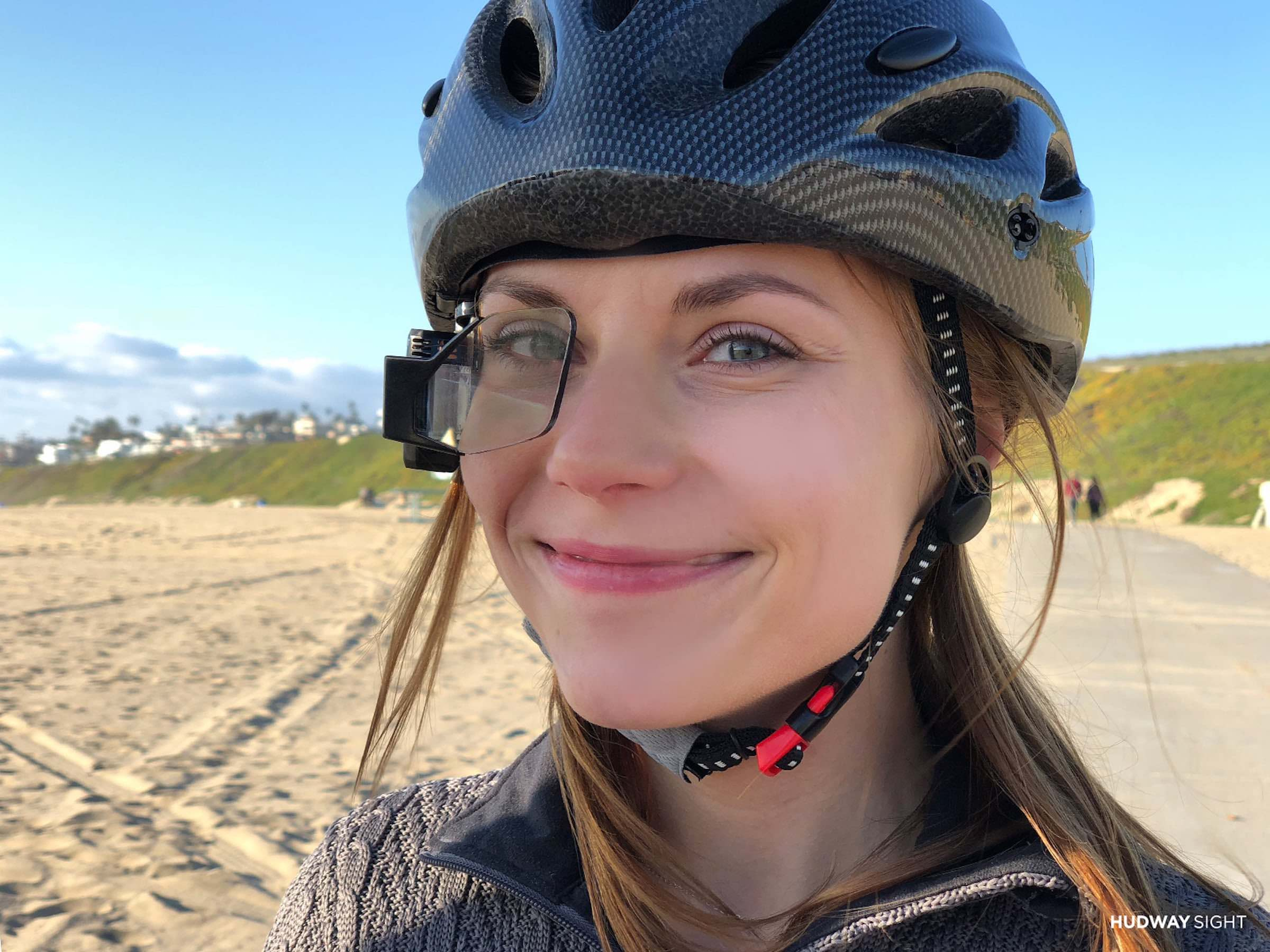 HUDWAY Sight Helmet-Mounted Heads-Up Display