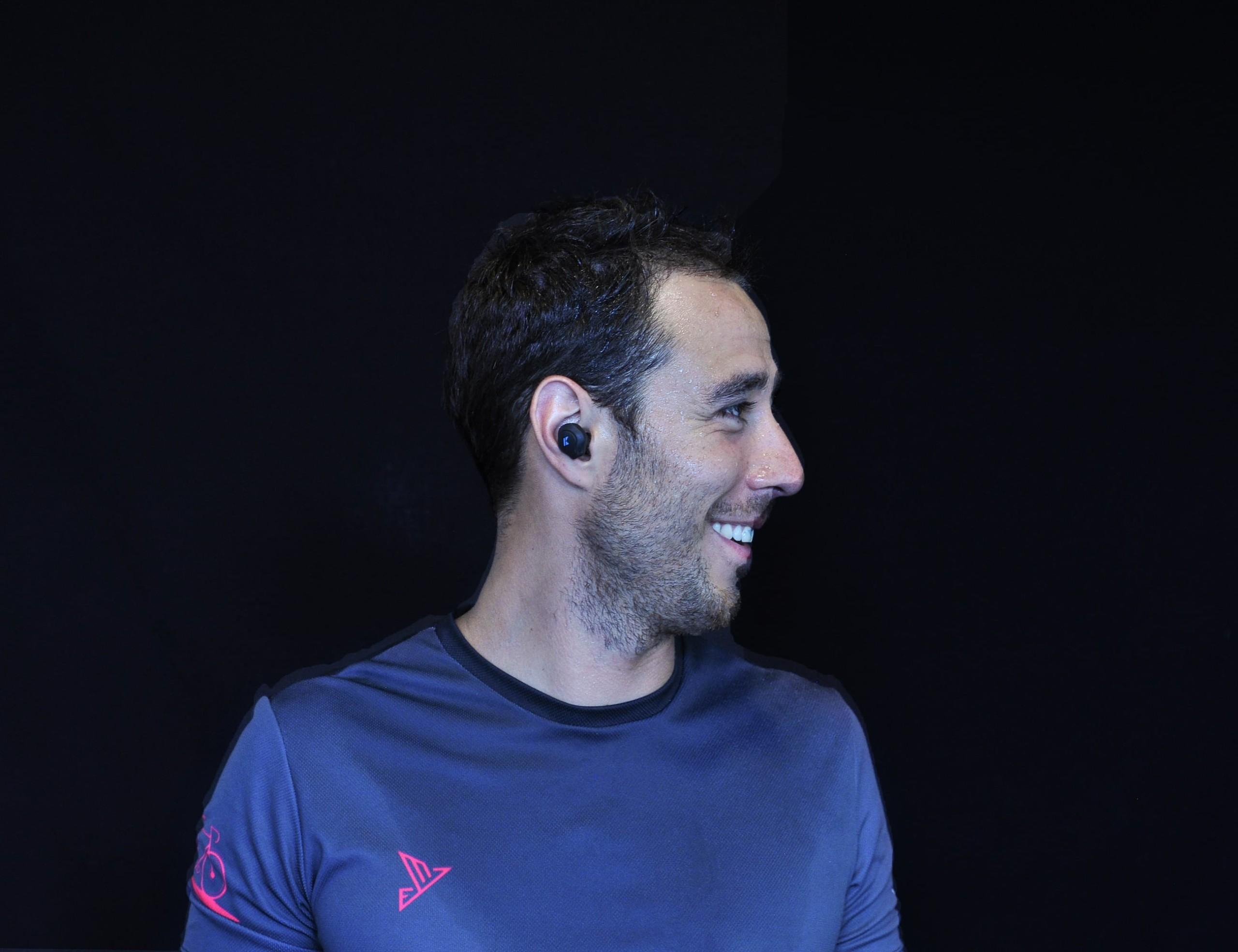 K Sport In-Ear Personal Trainer Headphones