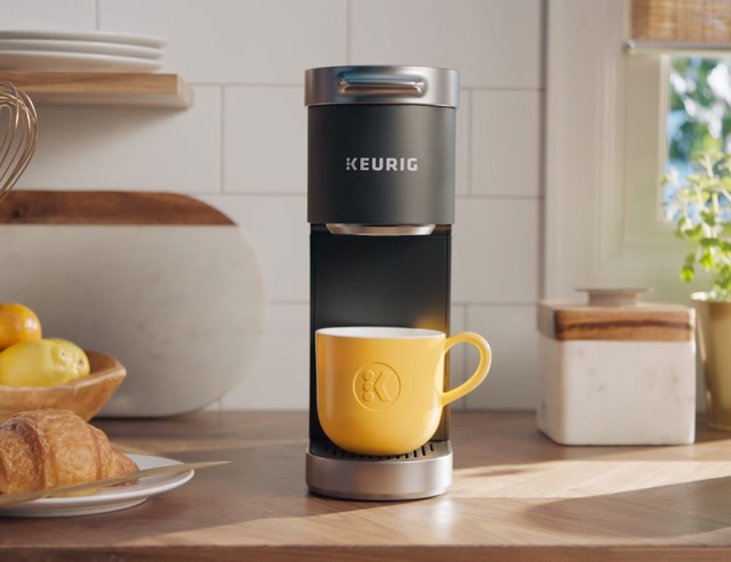 Keurig+K-Mini+Plus+Portable+Coffee+Maker+lets+you+enjoy+great+coffee+anywhere