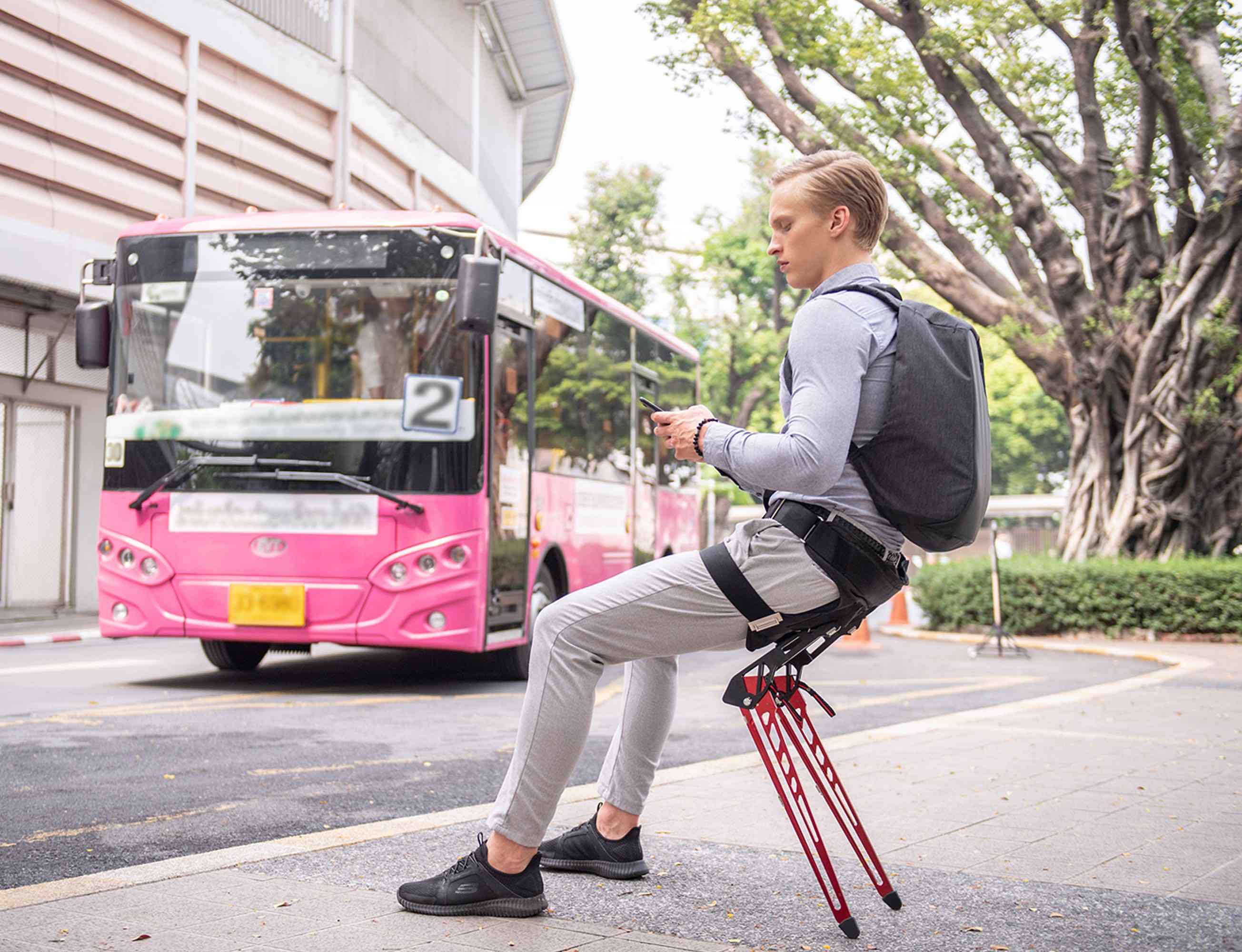 LEX Wearable Bionic Chair