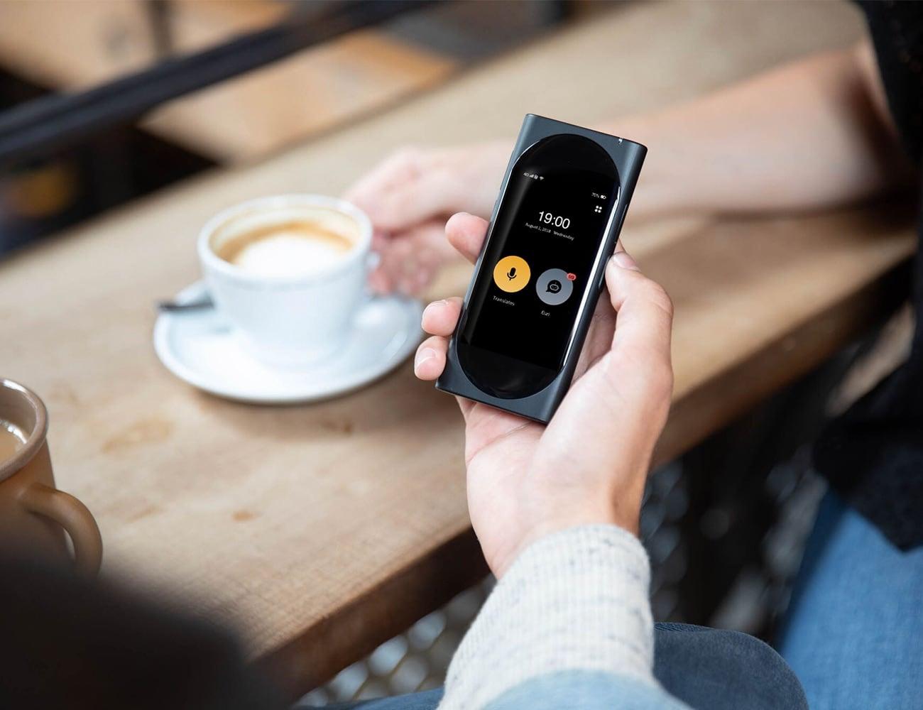 Langogo AI Pocket Translator and Wi-Fi Hotspot