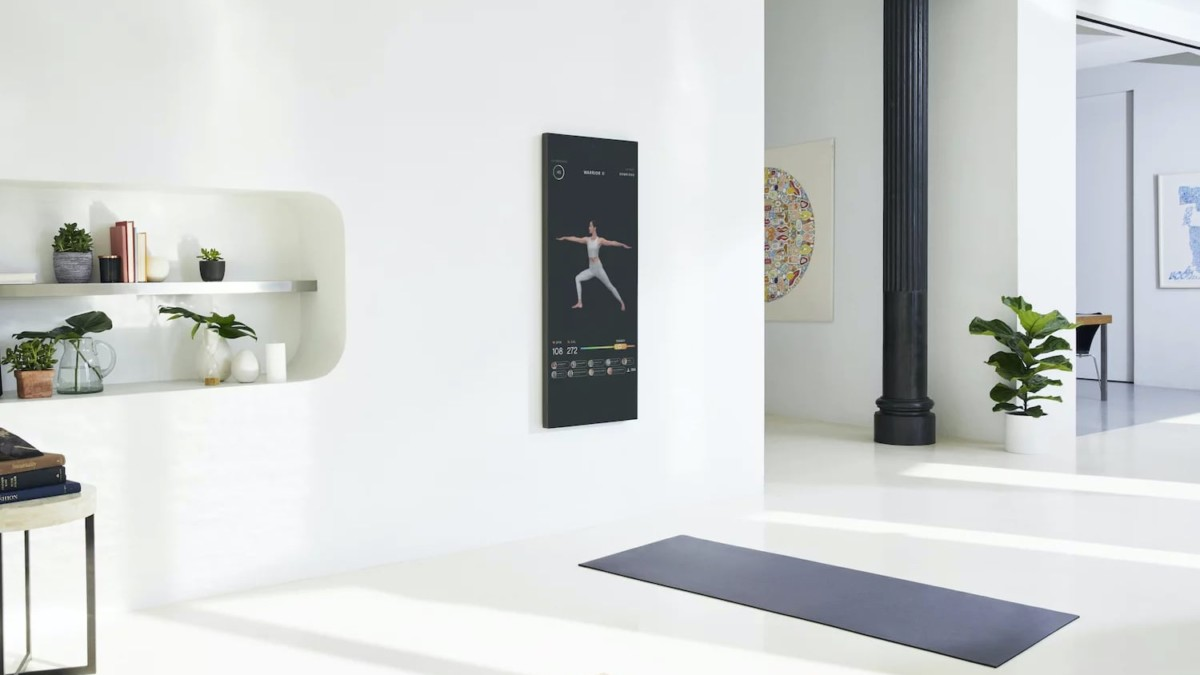 MIRROR Interactive Home Gym makes it easy to fit in exercise at home