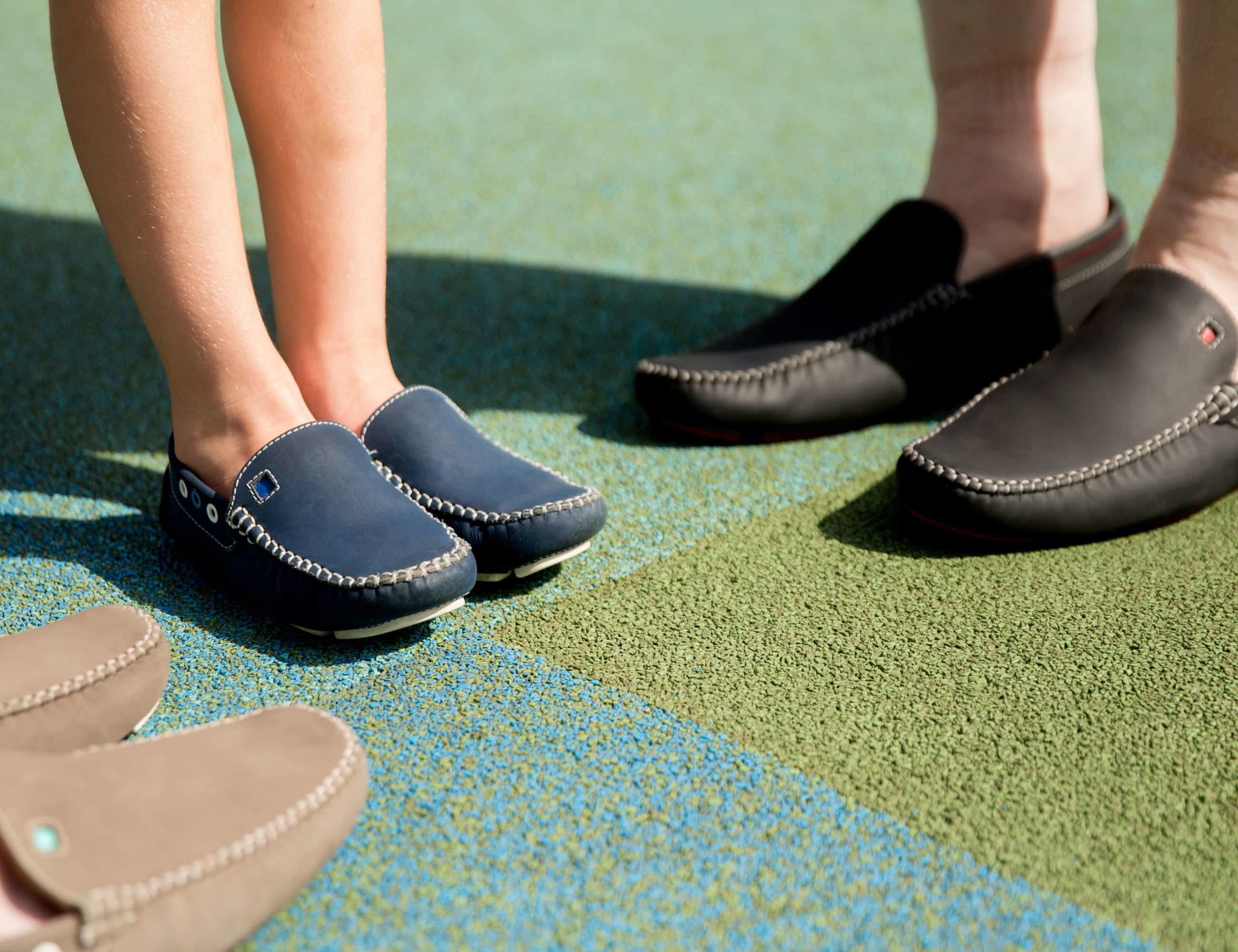 Mockas Matching Father and Son Loafers