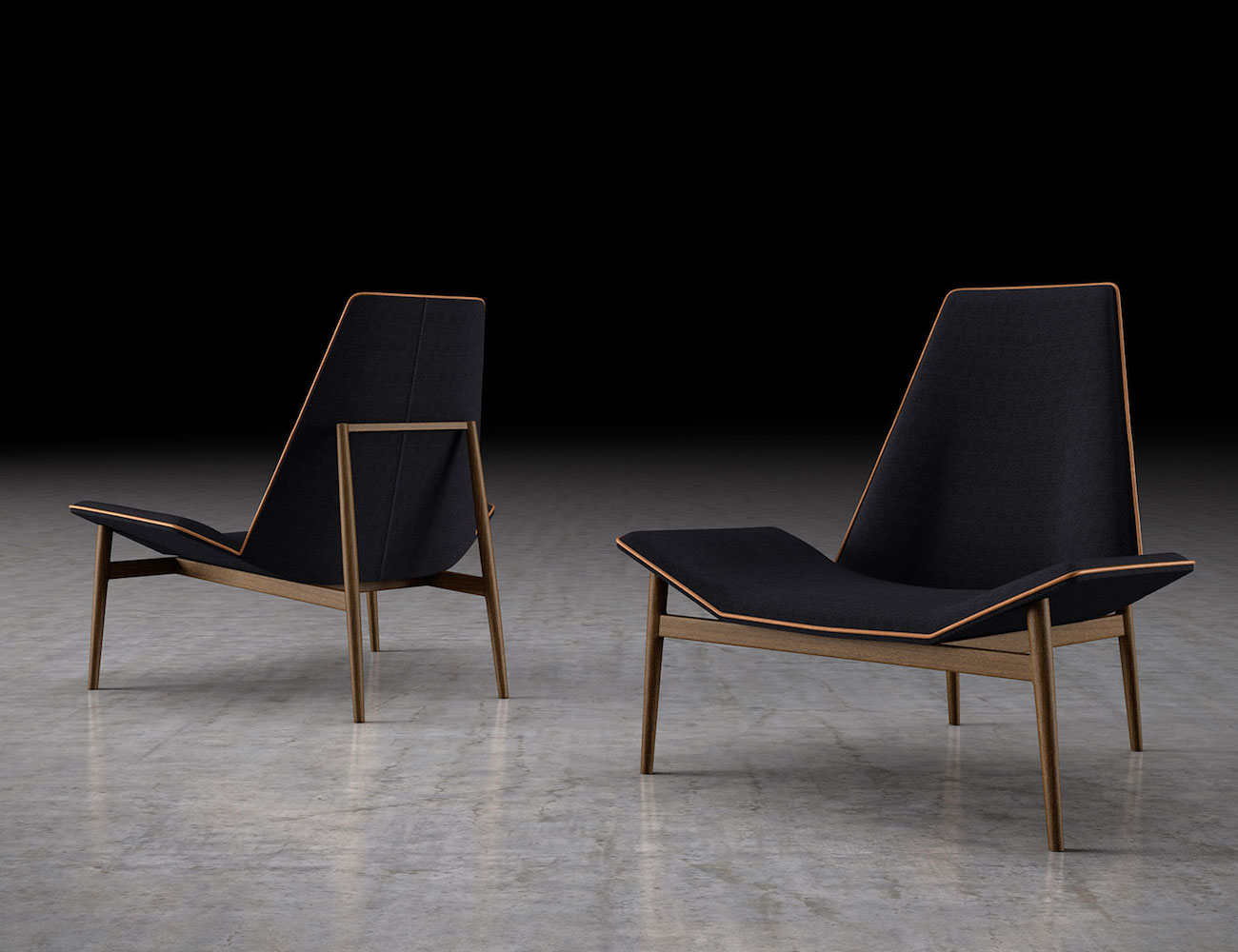 Modloft Kent Lounge Chair