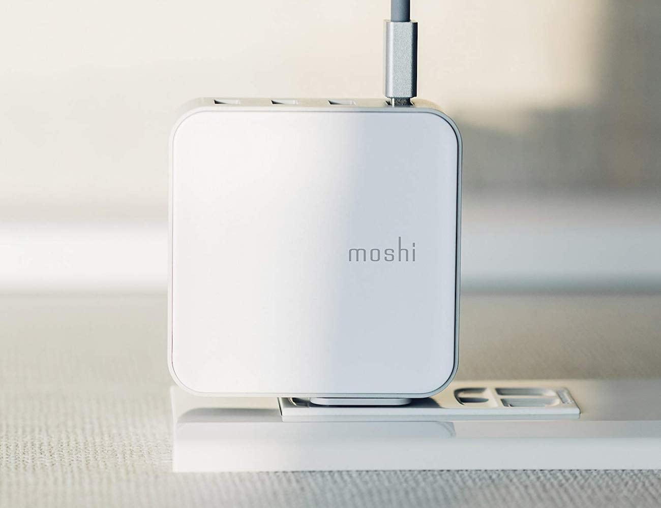 Moshi ProGeo 4-Port USB Wall Charger