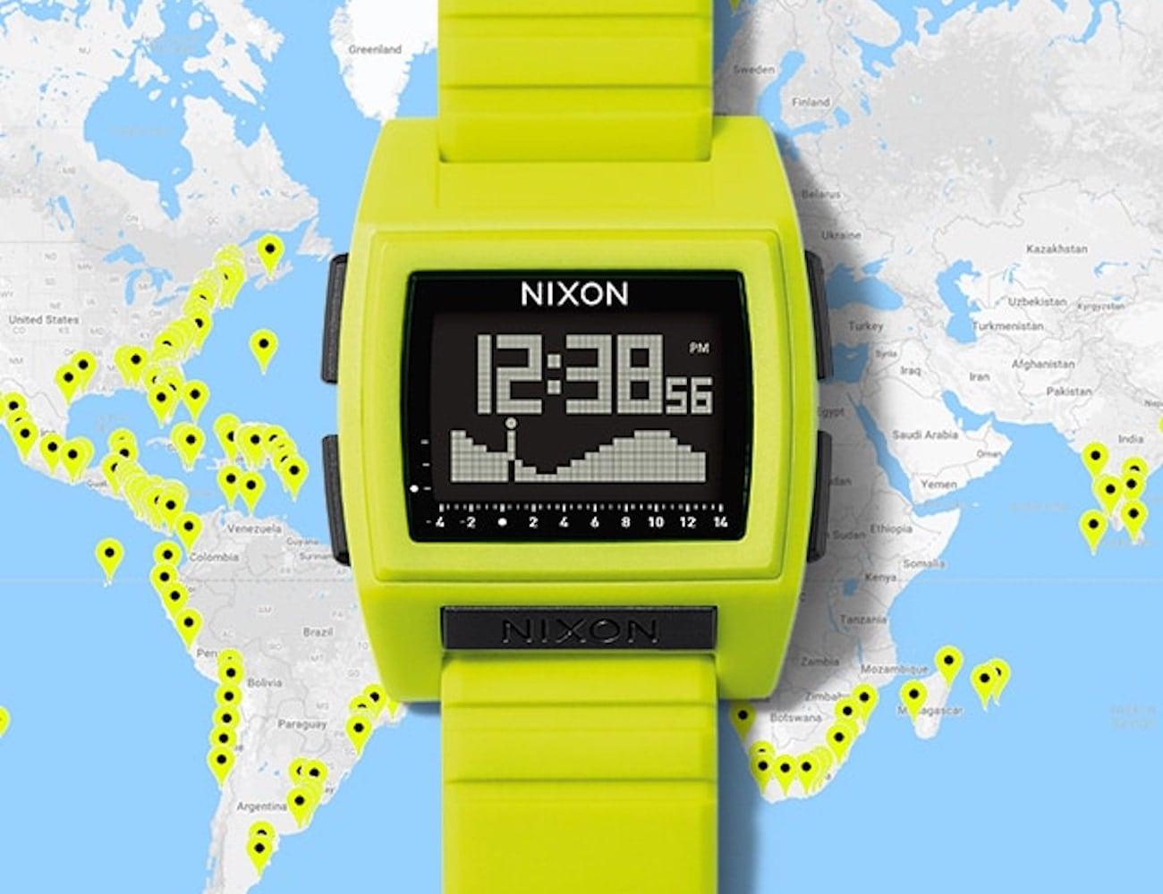 Nixon The Base Tide Pro Watch