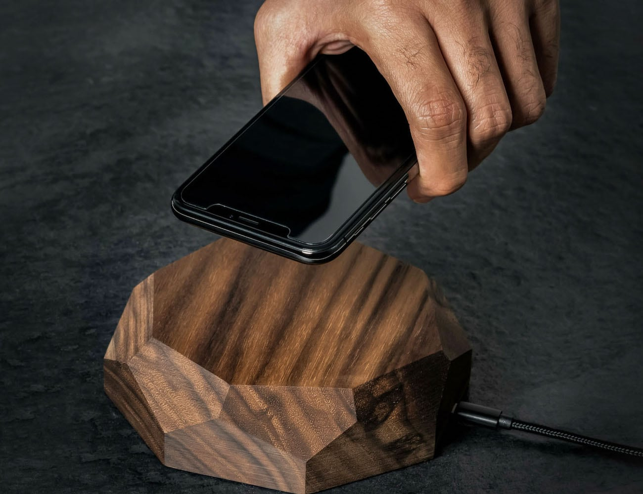 Oakywood Wood Wireless Charger