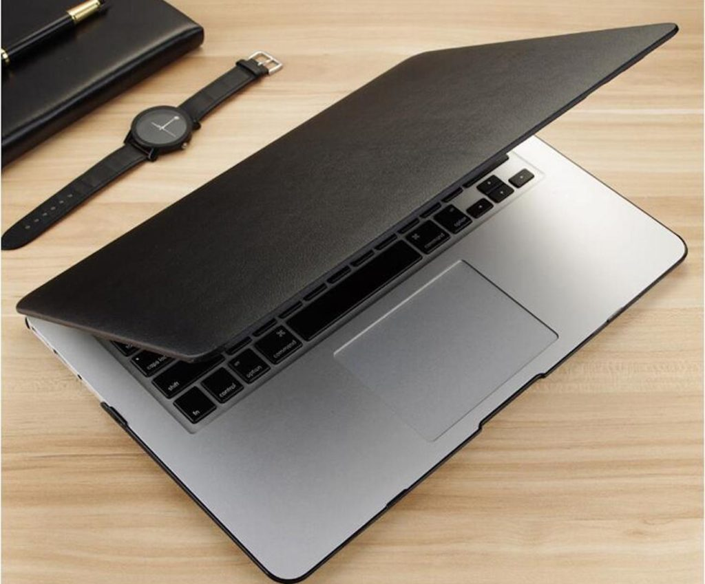 PU+Leather+MacBook+Sleeve