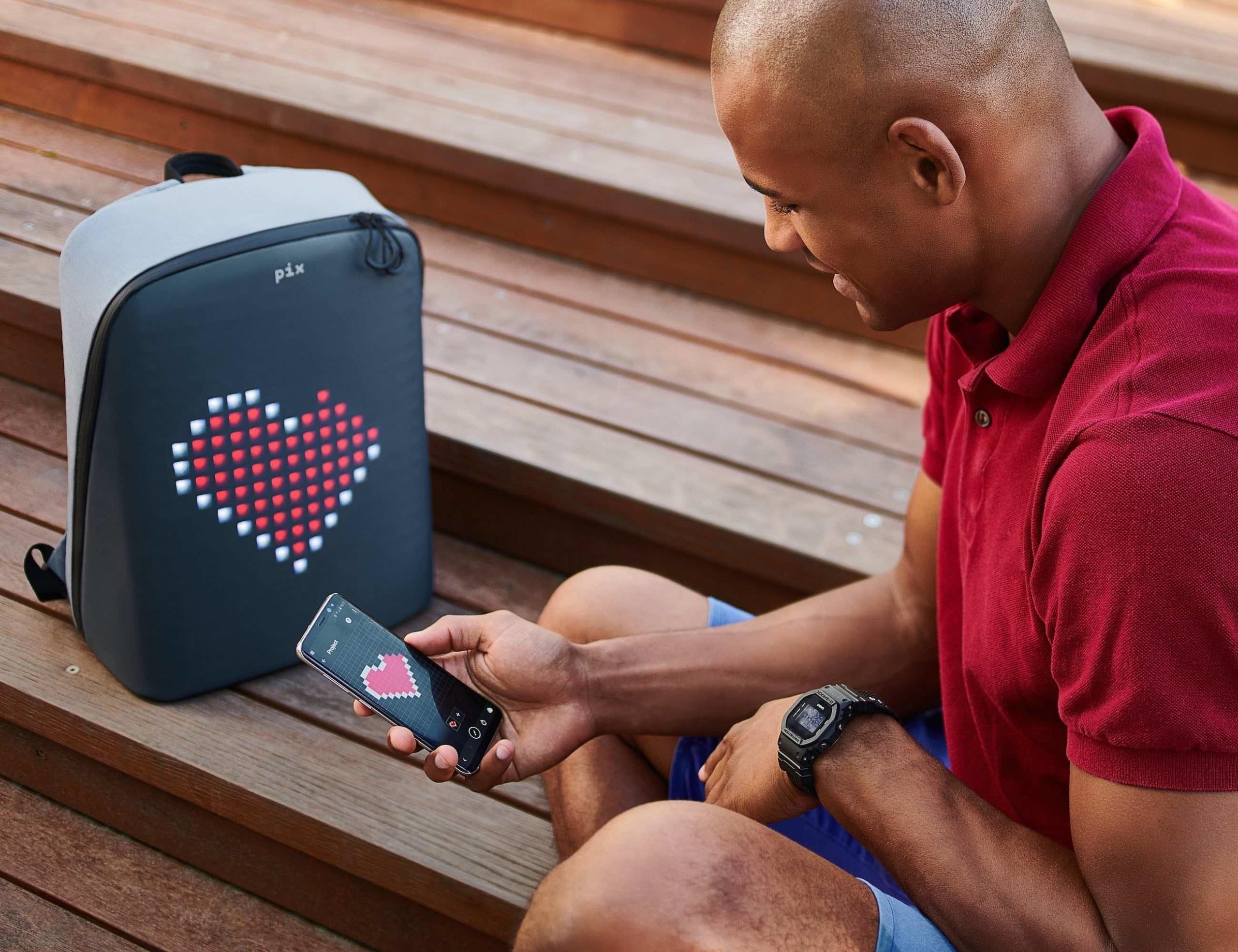 Pix Smart Animative Backpack