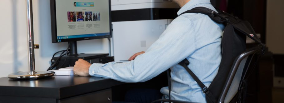 Back or neck pain? Posture Keeper is the simple solution