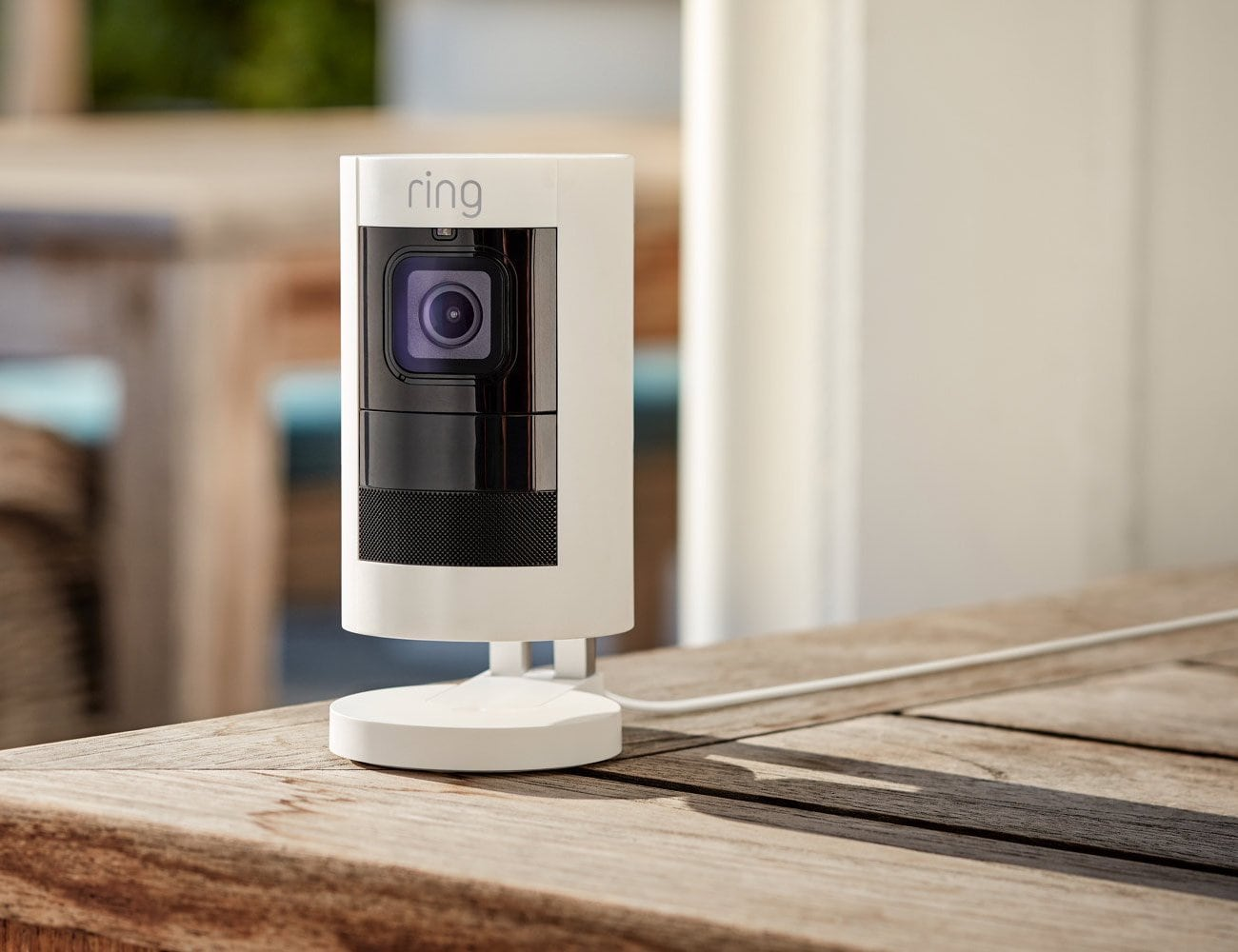 Ring Stick Up Wired Smart Security Camera