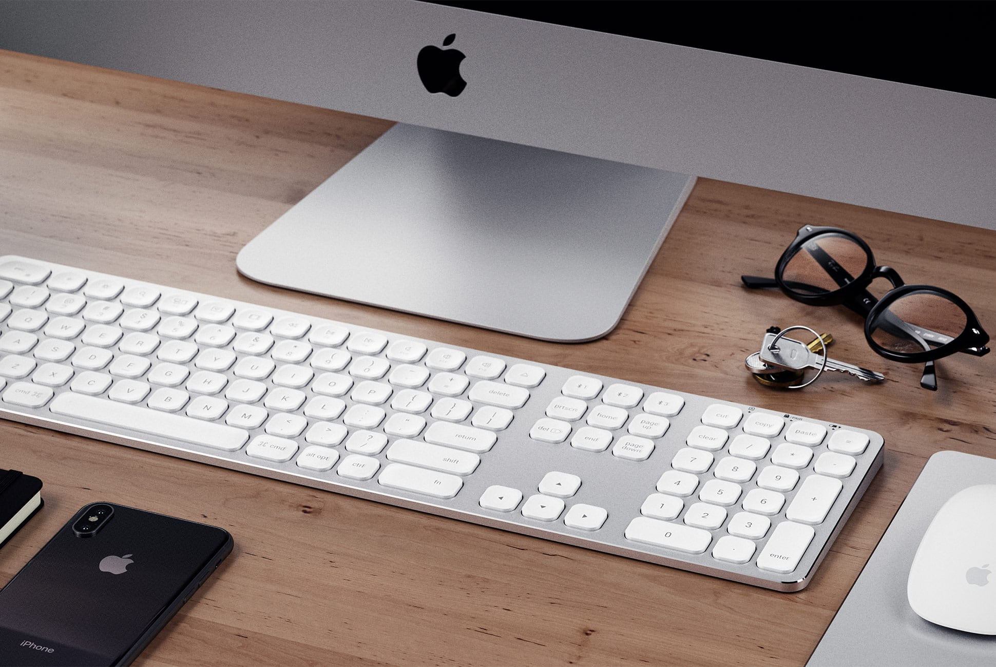 satechi aluminum imac keyboards gadget flow. Black Bedroom Furniture Sets. Home Design Ideas