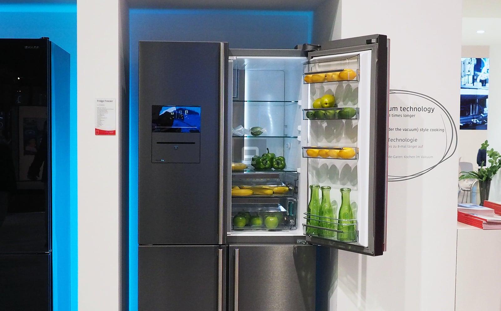 Sharp VacPac Pro Multi Door Fridge Freezer