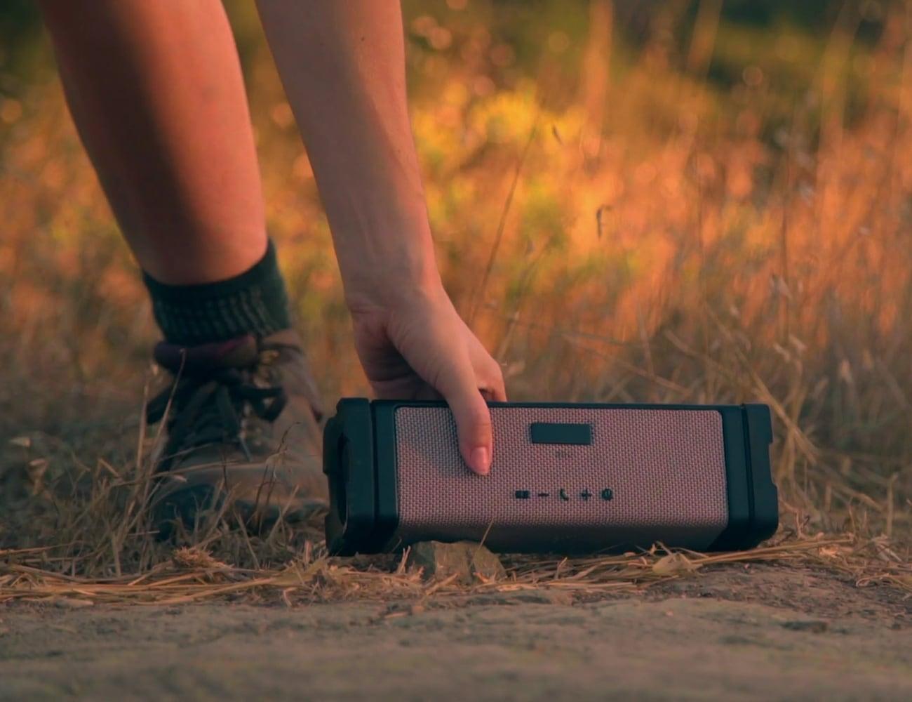 Solarbox Lumine Waterproof Solar Speaker