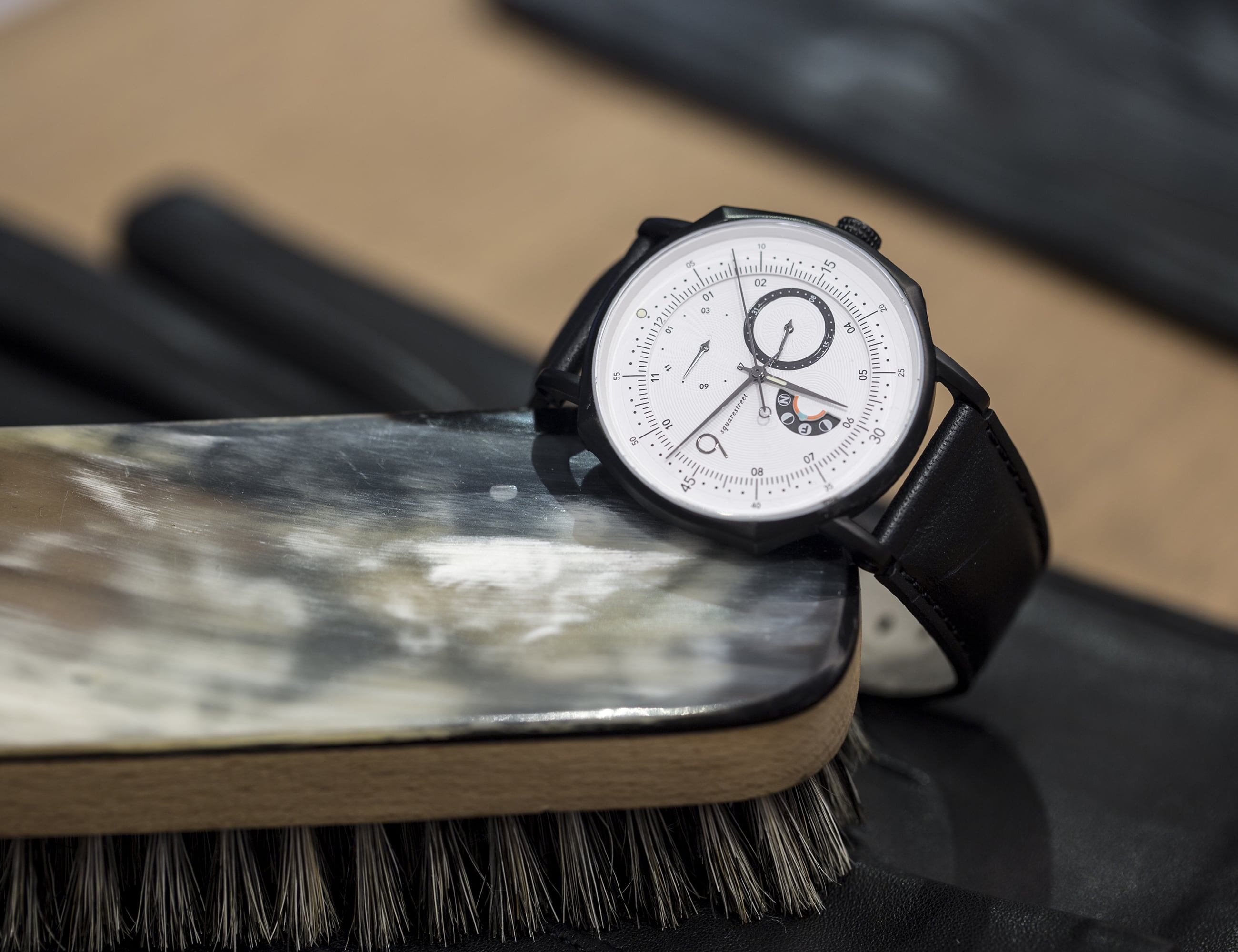 Squarestreet Swedish Contemporary Moon Phase Watches