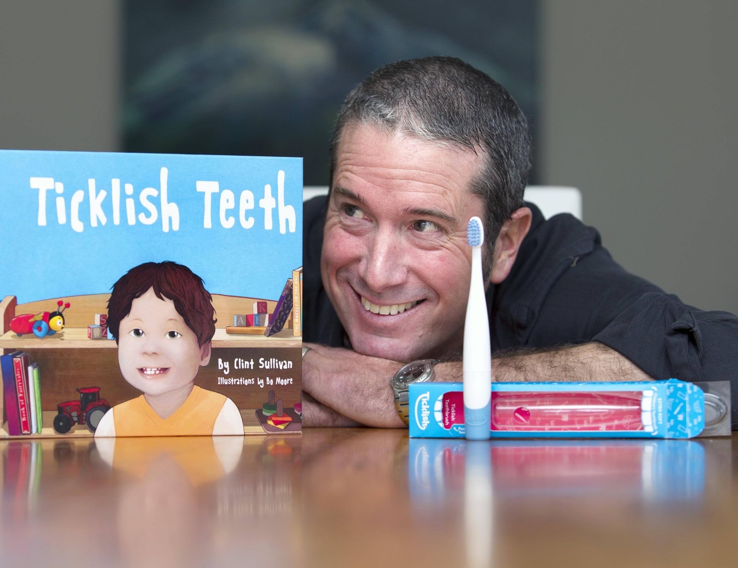 Ticklish Teeth Kids Motion Sensitive Toothbrush