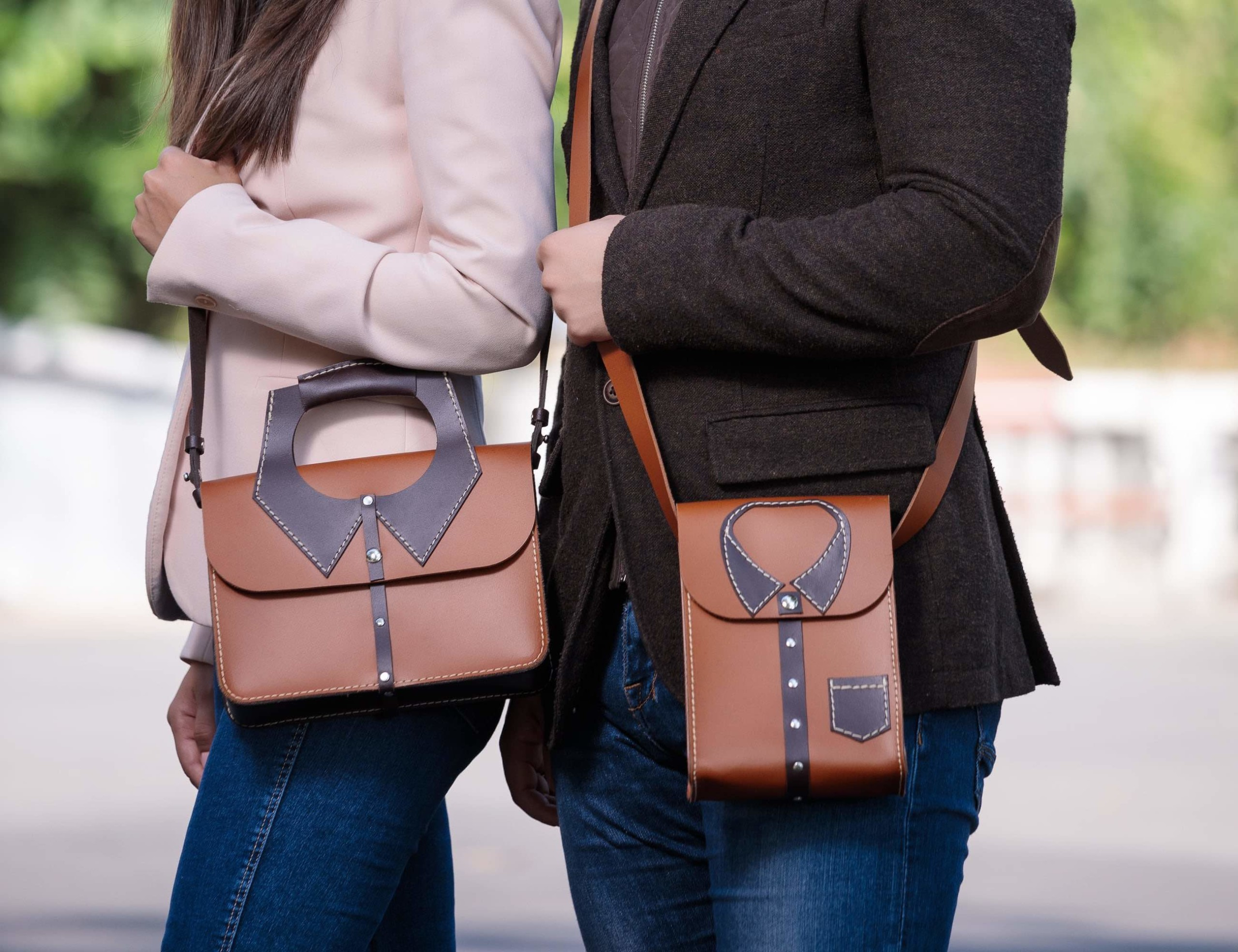 Todd Moni Leather Bags with Character