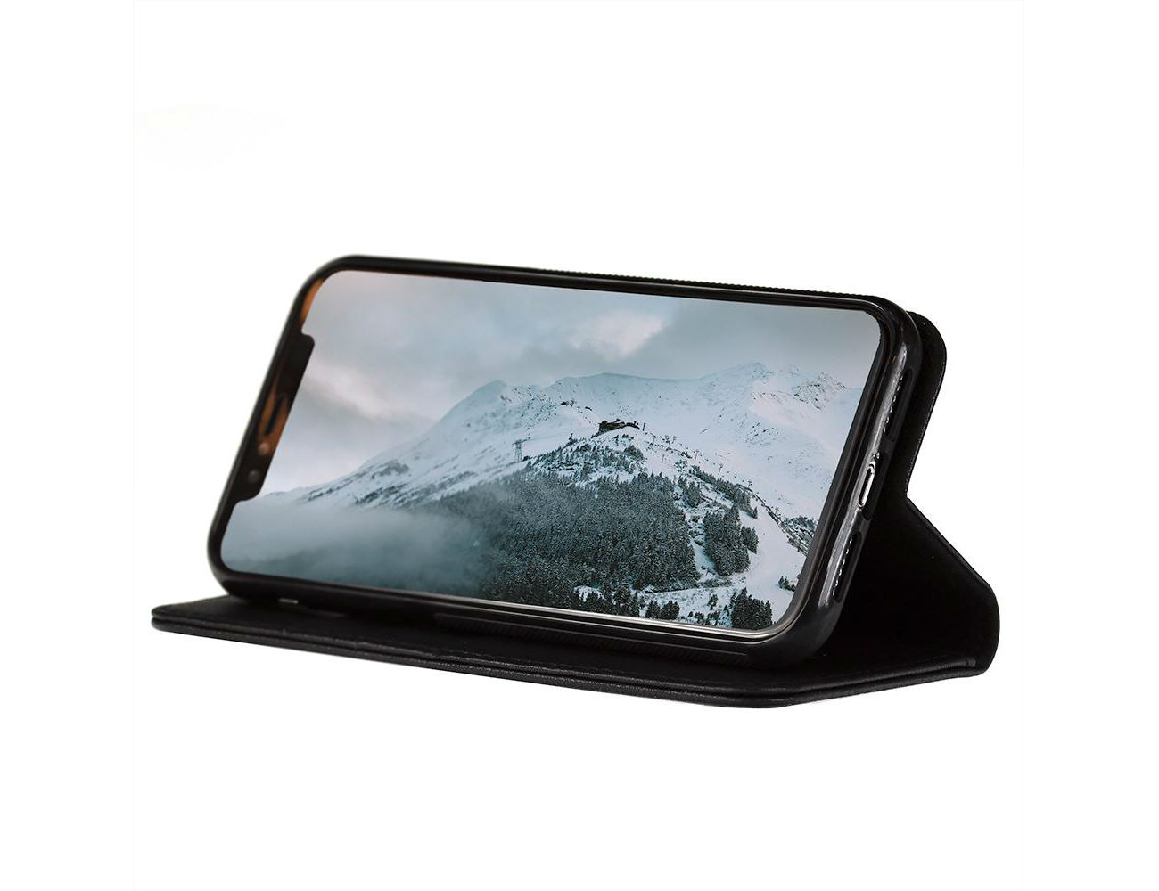 Torro Leather iPhone Xr Stand Case