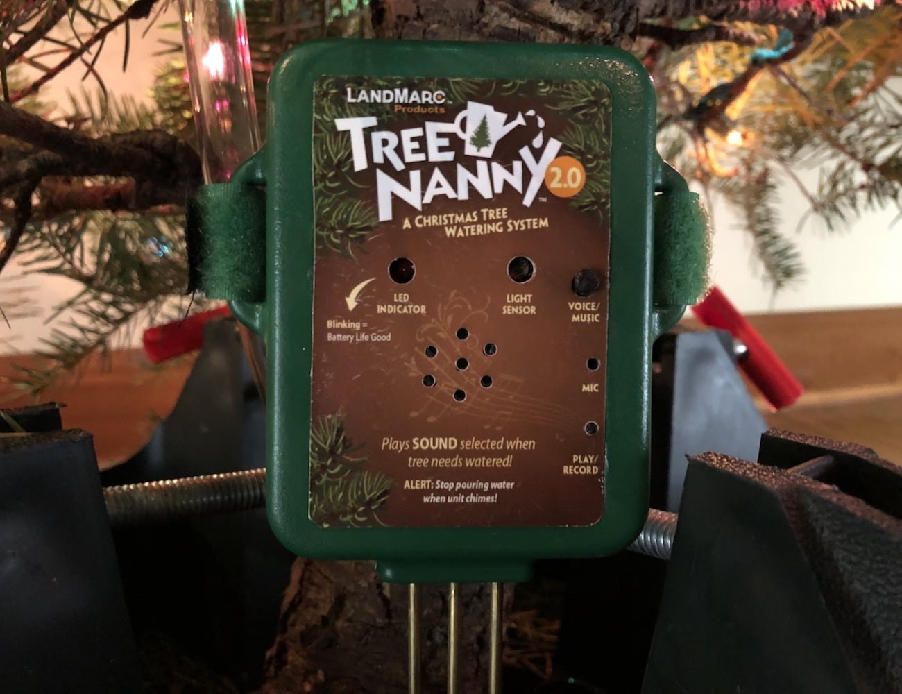 Tree Nanny 2.0 makes it easy to look after your Christmas tree