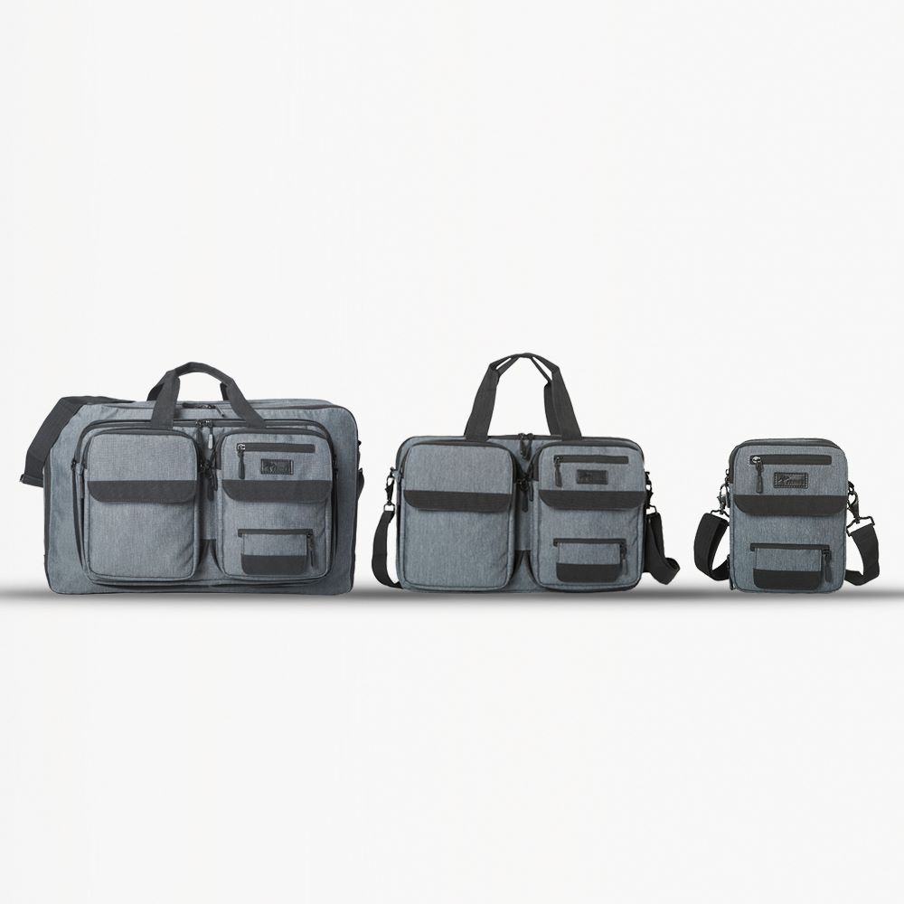 Trinus 3-in-1 Transformable Travel Bags