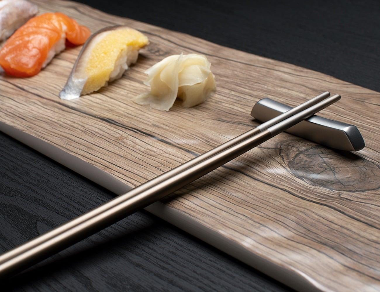 Twinz Eco-Friendly Titanium Chopsticks
