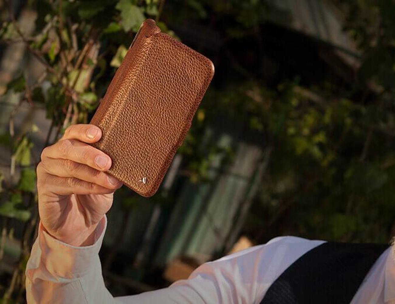 Vaja iPhone Xs Max Folio Leather Case