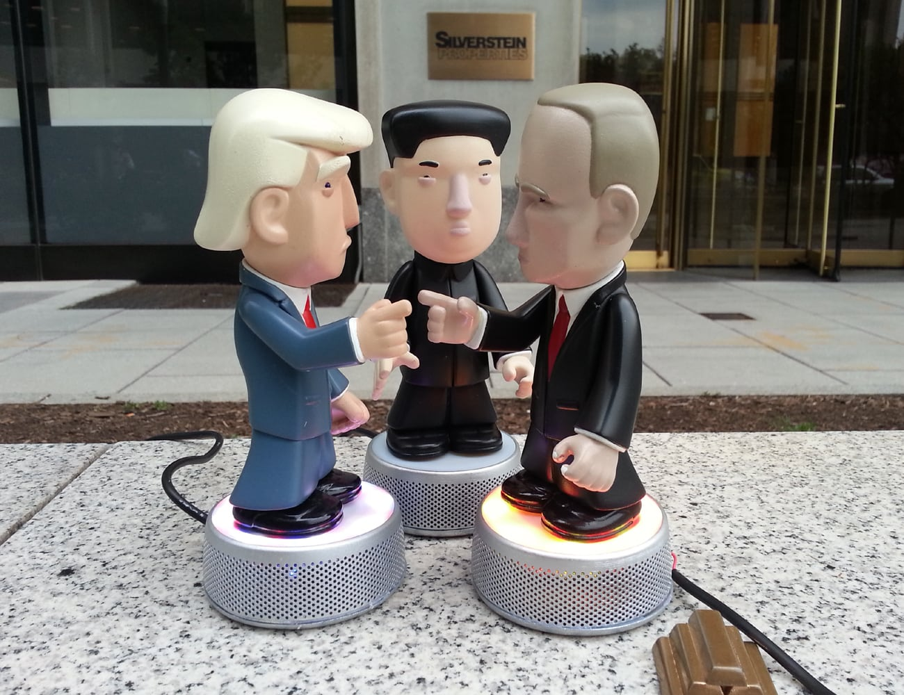 Very Important Puppets Interactive World Leader Speakers