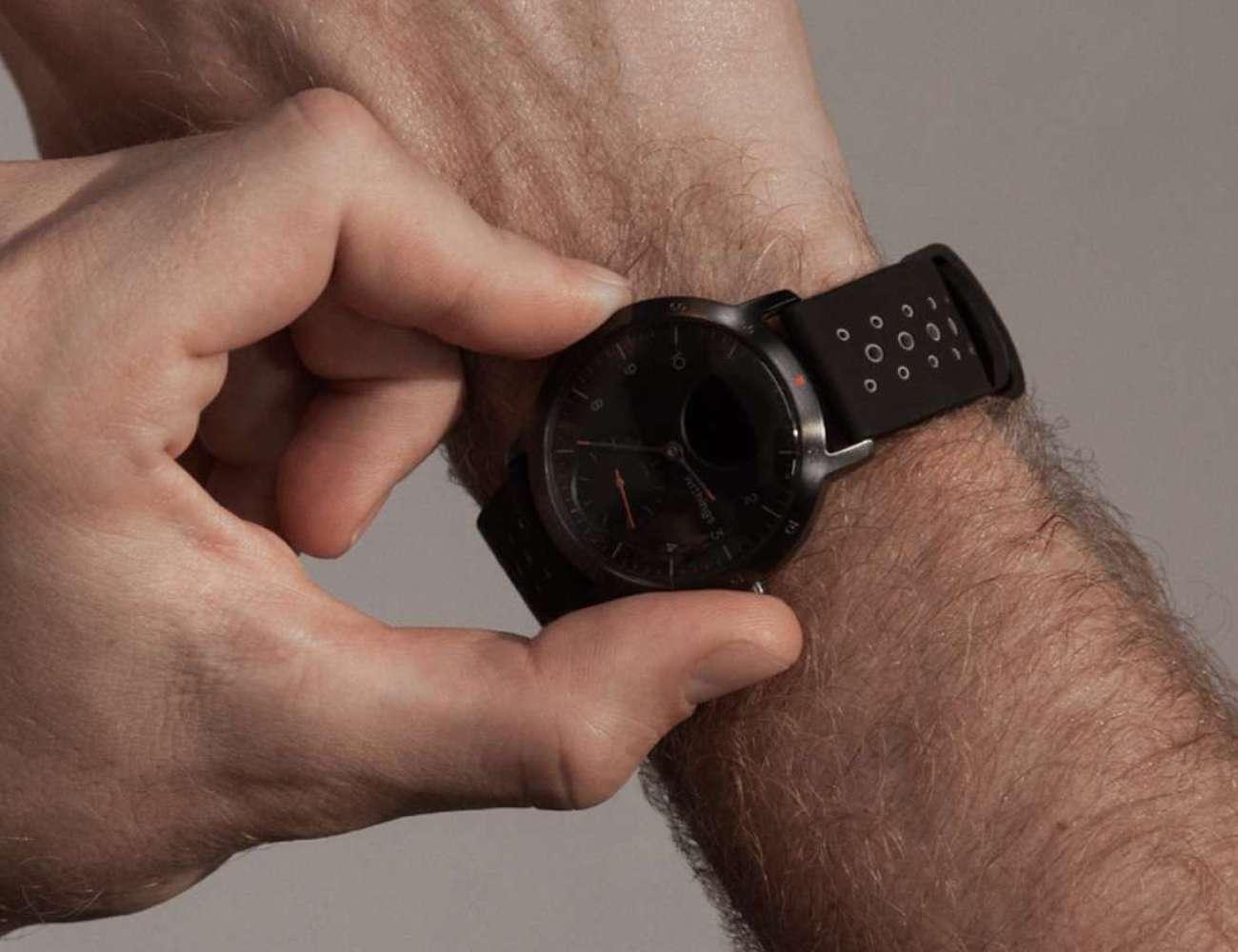 Withings Steel HR Sport Multi-Sport Hybrid Smartwatch